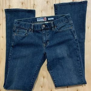Old Navy Women Boot Cut Stretch Blue Jeans Size 6L